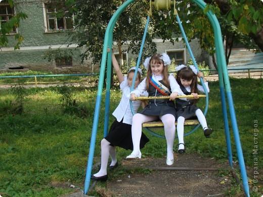 """""""День знаний"""" в нашей школе начался с торжественной линейки.  фото 5"""
