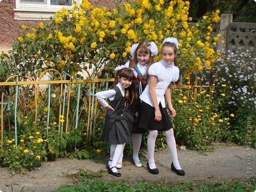 """""""День знаний"""" в нашей школе начался с торжественной линейки.  фото 6"""