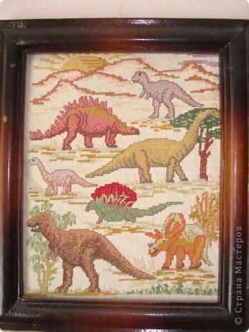 Динозавры - моя первая работа фото 1