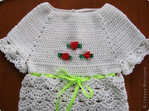 Добрый вечер, любители вязания!! У меня появился повод вязать такие маленькие наряды, чему я рада несказанно! фото 2