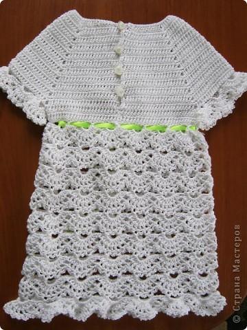 Добрый вечер, любители вязания!! У меня появился повод вязать такие маленькие наряды, чему я рада несказанно! фото 3