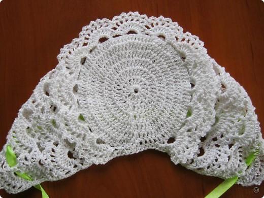 Добрый вечер, любители вязания!! У меня появился повод вязать такие маленькие наряды, чему я рада несказанно! фото 4