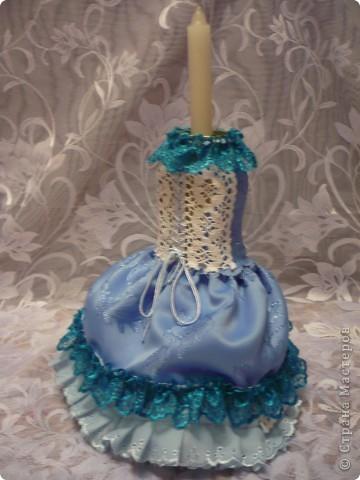 Это моя самая первая работа. Декорировала стеклянную вазу (в виде рюмки для коньяка, только большая). Она без дела стояла у сестры в шкафу, и тут я решила ее хоть как-то преобразить. И вот, что получилось.... фото 4