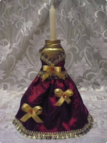 Это моя самая первая работа. Декорировала стеклянную вазу (в виде рюмки для коньяка, только большая). Она без дела стояла у сестры в шкафу, и тут я решила ее хоть как-то преобразить. И вот, что получилось.... фото 5