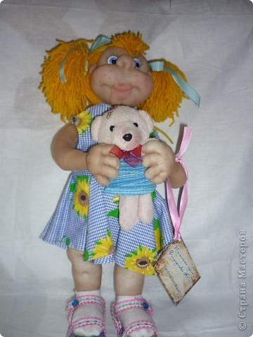 у меня была выставка!!!!)))) Это я со своими куколками))) фото 4