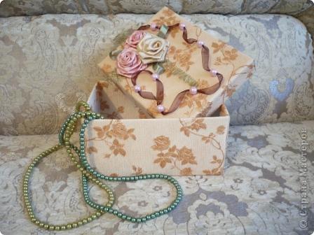 Эту коробочку я смастерила для своей любимой свекрови. фото 1