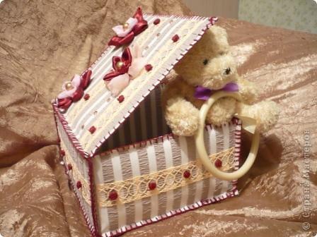 Эту коробочку я смастерила для своей любимой свекрови. фото 3