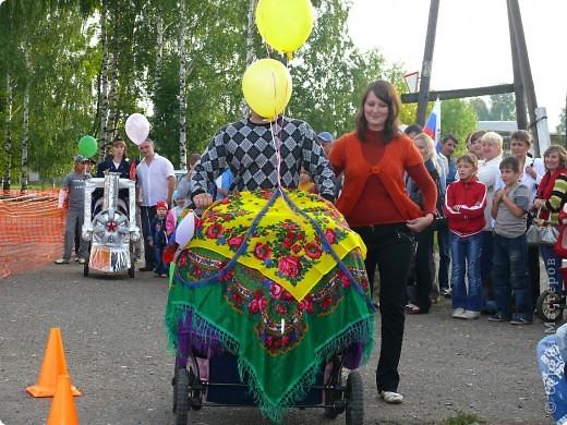 Первое место в конкурсе детских колясок - 2009 год. фото 7
