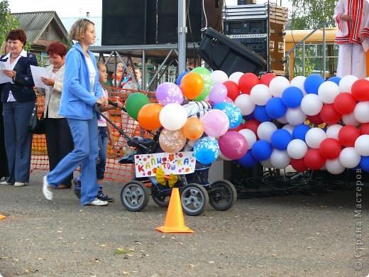 Первое место в конкурсе детских колясок - 2009 год. фото 8