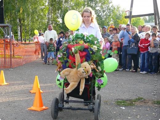 Первое место в конкурсе детских колясок - 2009 год. фото 11