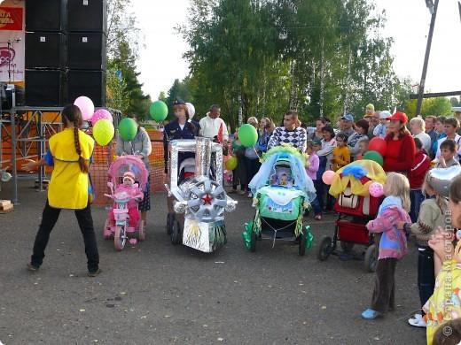 Первое место в конкурсе детских колясок - 2009 год. фото 14