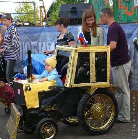 Первое место в конкурсе детских колясок - 2009 год. фото 23