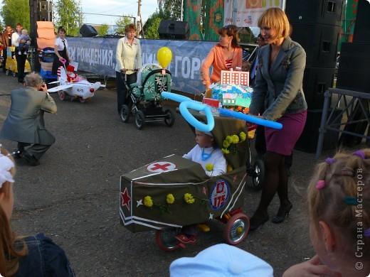 Первое место в конкурсе детских колясок - 2009 год. фото 24
