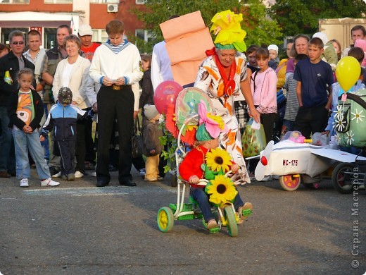 Первое место в конкурсе детских колясок - 2009 год. фото 26