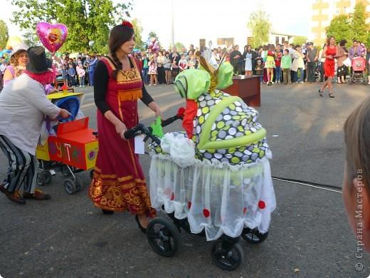 Первое место в конкурсе детских колясок - 2009 год. фото 30