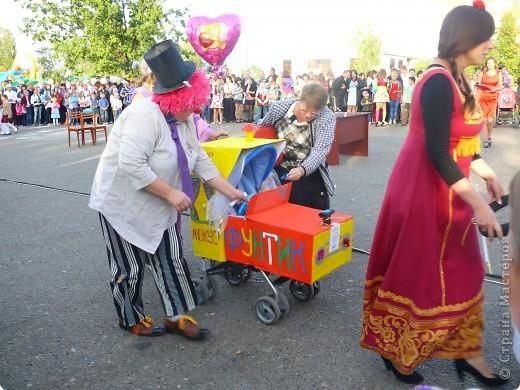 Первое место в конкурсе детских колясок - 2009 год. фото 32