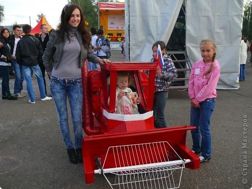 Первое место в конкурсе детских колясок - 2009 год. фото 37