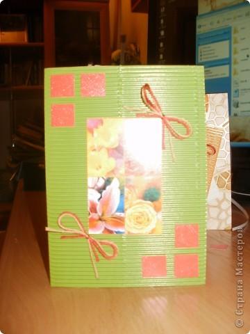 Слонючая открыточка.. :) Эта открыточка сделана к папиному дню рождения. Он коллекционирует слоников, и поэтому здесь я использовала нечто похожее на слона.. :) фото 3