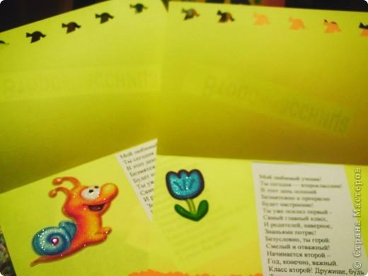 Портфельчик-открытка для учеников 1 класса. Вдохновение черпала здесь: http://stranamasterov.ru/node/232731 СПАСИБО Елене Малаховой!!!! И здесь: http://stranamasterov.ru/node/219492 СПАСИБО Ольге Александровне! фото 5