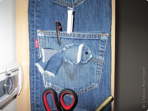 поделка из старых джинсов фото 2