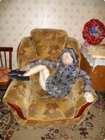 Фрося. Шилась для отработки движений в танцах, но дого мне понравился результат, что она просто сидит в кресле =) жалко танцевать.  фото 1