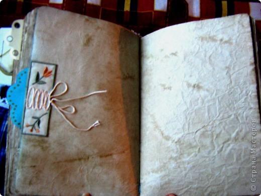 """Давно нужна была книга, куда бы я могла записывать кулинарные рецепты, а так же был нужен """"дневник"""" для записей о мыловарении. Решила собрать все это в один блокнот """"с нуля"""". фото 9"""