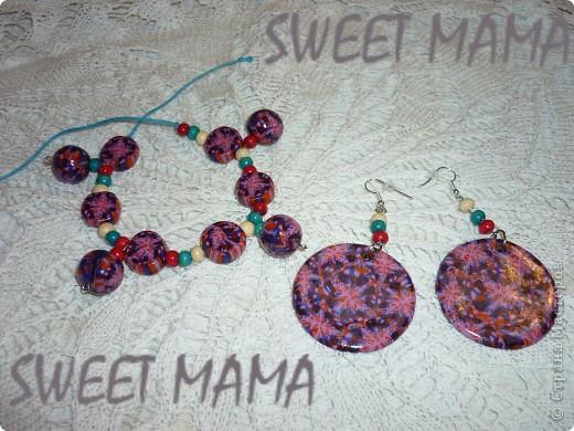 Маки, ожерелье и кольцо. фото 25
