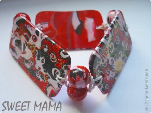 Маки, ожерелье и кольцо. фото 17
