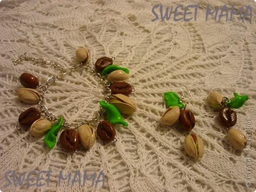 Маки, ожерелье и кольцо. фото 19
