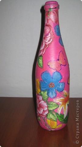 бутылочка для золовки на рождение первой дочери! фото 4