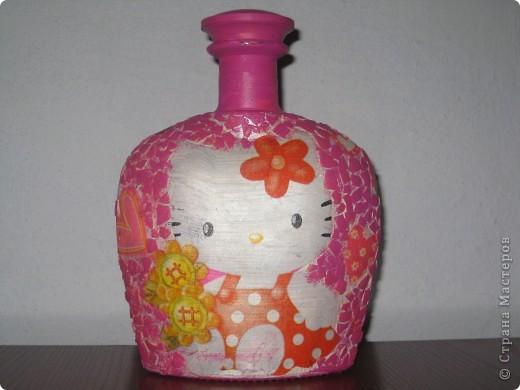 бутылочка для золовки на рождение первой дочери! фото 6