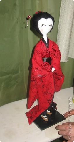 Такую куколку сшила в подарок) фото 1