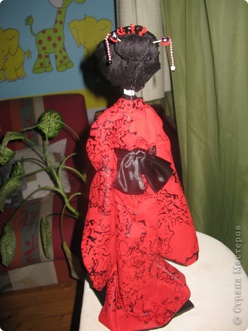 Такую куколку сшила в подарок) фото 5