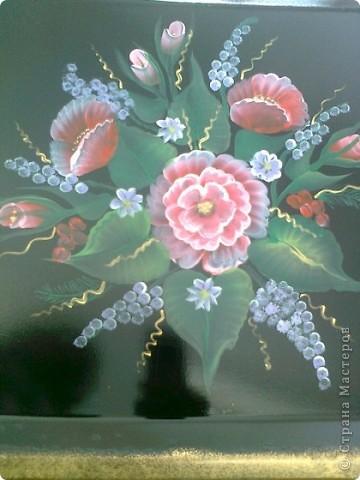 Попытки росписи на различных поверхностяж - фарфор фото 7