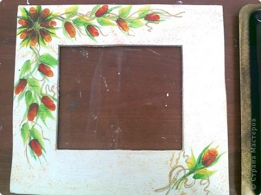 Попытки росписи на различных поверхностяж - фарфор фото 8