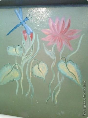 Попытки росписи на различных поверхностяж - фарфор фото 9