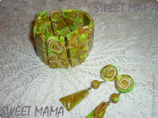 Маки, ожерелье и кольцо. фото 5