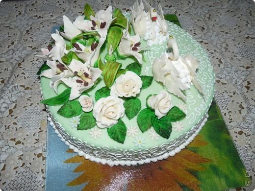 """Вот еще один мой тортик, как говорится """"с пылу с жару"""" Вес 3 кг.  фото 1"""
