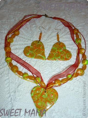 Маки, ожерелье и кольцо. фото 12