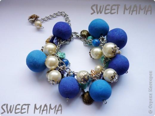 Маки, ожерелье и кольцо. фото 14