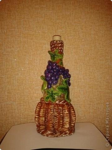 Виноградная бутылочка. фото 2
