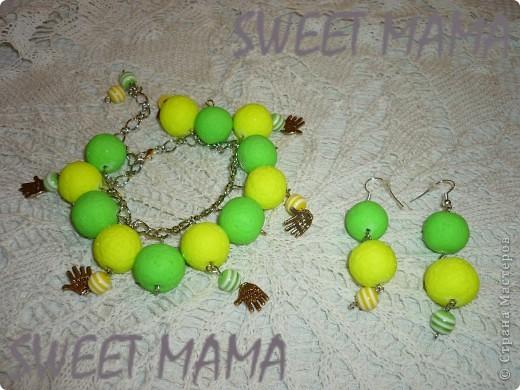 Маки, ожерелье и кольцо. фото 4