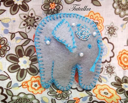 слоник голубой!!! фото 1
