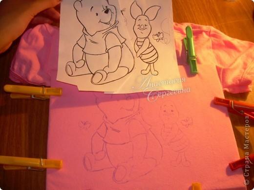 Рисунок на маечке для племянницы фото 2