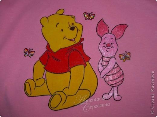 Рисунок на маечке для племянницы фото 4
