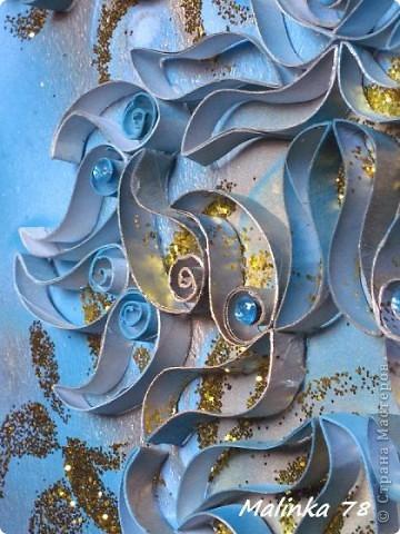 ЧАСТЬ 1  Всем доброго времени суток. Представляю вам ещё одно моё произведение сделанное из рулонов туалетной бумаги. Узоры сделаны в форме пейсли. Техника похожа чем-то на квиллинг, но не знаю можно ли вот это отнести к квиллингу. фото 16