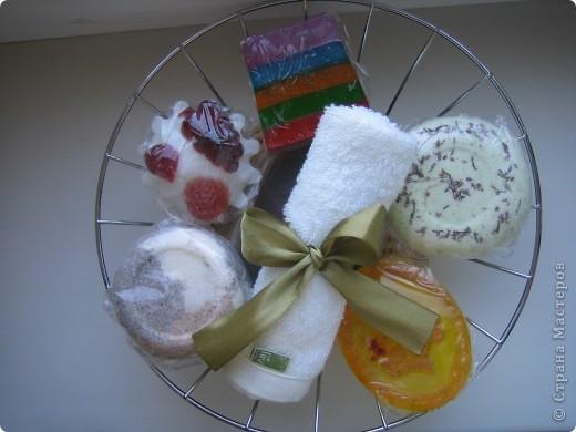Массажная плитка с маком и ванилькой, бомбочка бейлиз-персик, тортик-мыло апельсин, ваниль, корица фото 5
