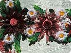 Вот и наступила осень и тот веночек из полевых цветов, который я делала раньше  http://stranamasterov.ru/node/215294  как бы стал не актуален, вот я и сделала  осенний вариант, хочу назвать эти цветы хризантемами. фото 4