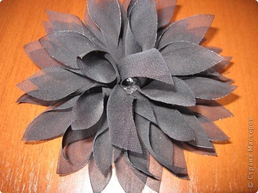 Цветы-брошь фото 3