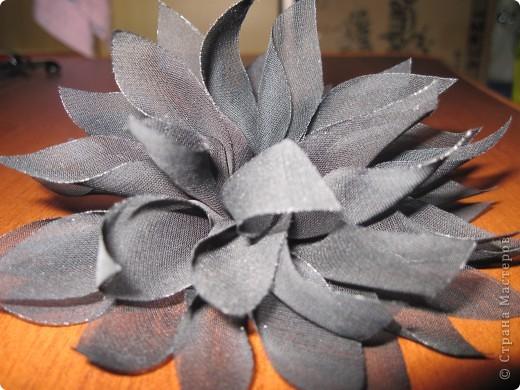 Цветы-брошь фото 4